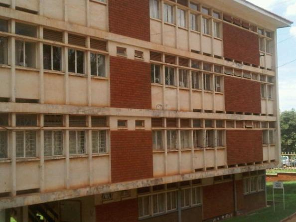 Faculty of journalism at Makerere University in Kampala