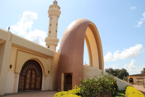 The Gaddafi Mosque in Old Kampala